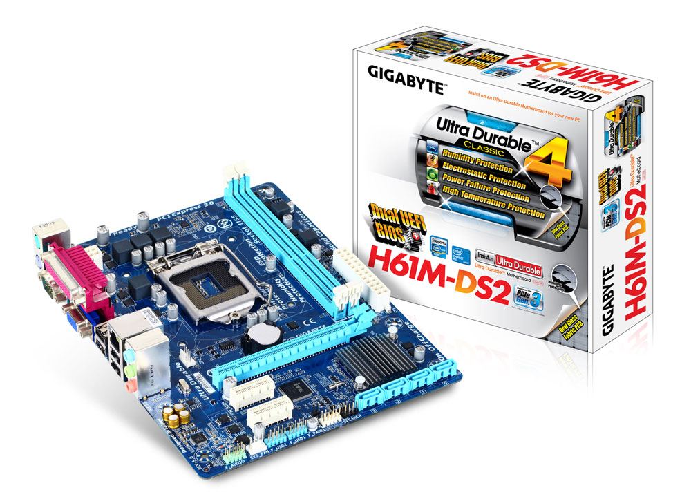 Gigabyte GA-H61M-DS2H Microsoft UAA Driver for PC